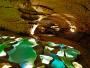 11 Jeu de lumière dans les Gourds de la Grotte St Marcel