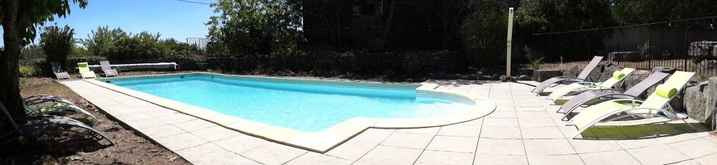 L'espace piscine !
