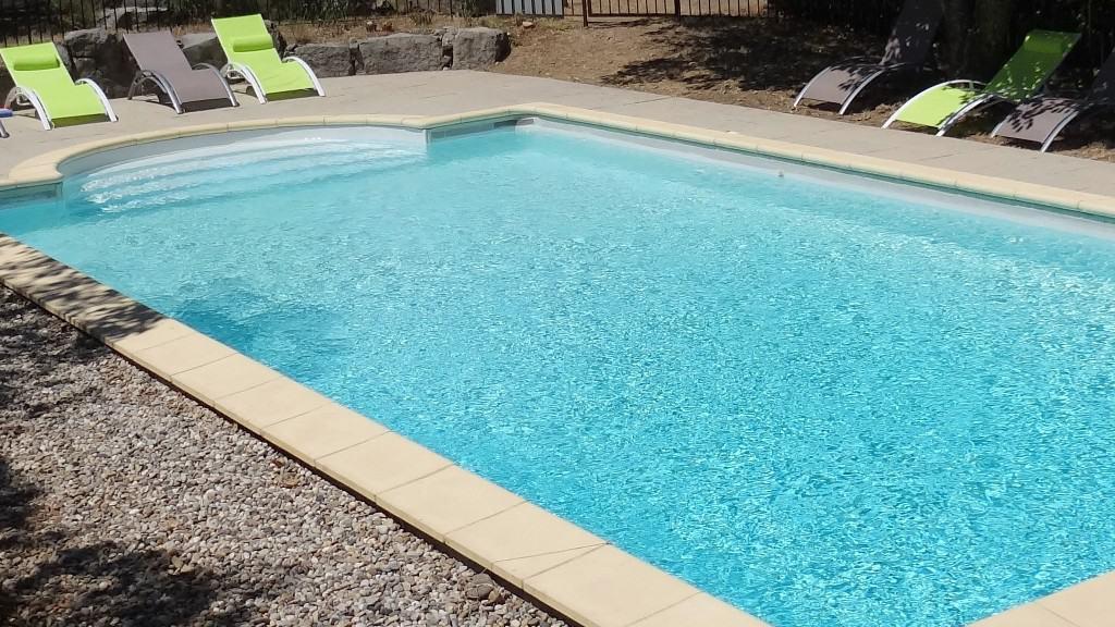 L'espace piscine solarium